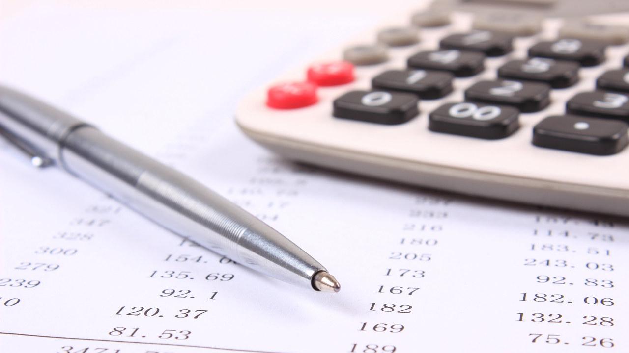 Penn, kalkulator og tall