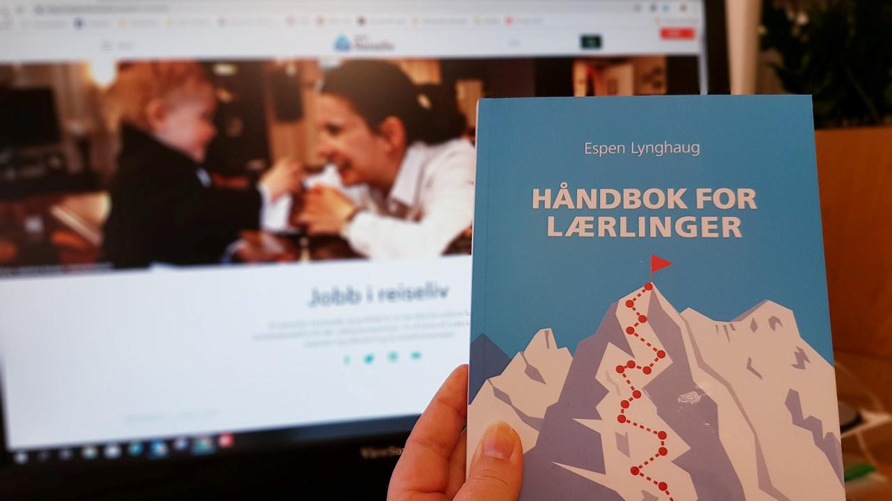 Bilde av håndbok for lærlinger