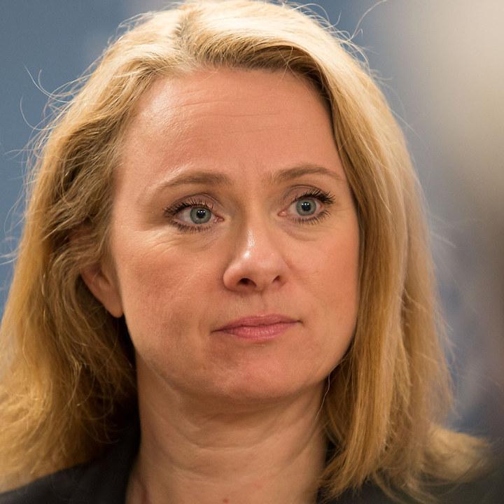 Arbeids- og sosialminister Anniken Hauglie (H)