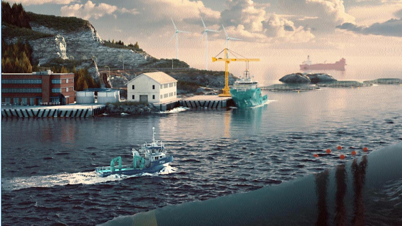 Ocean Space Centre - illustrasjon