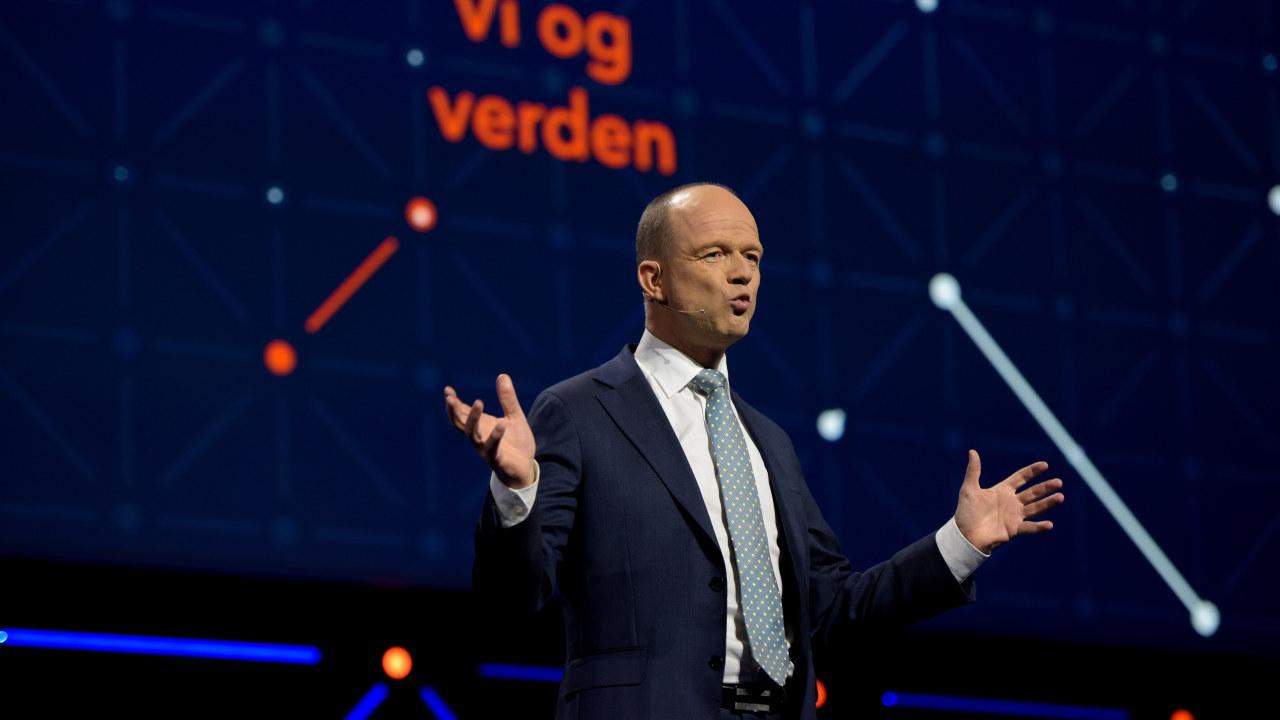 Ole Erik Almlid, administrerende direktør i NHO.
