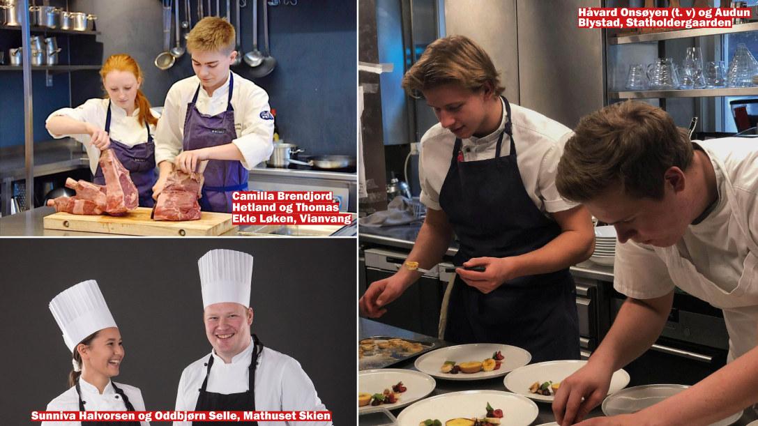 Norgescup for kokk- og servitørlærlinger 2019