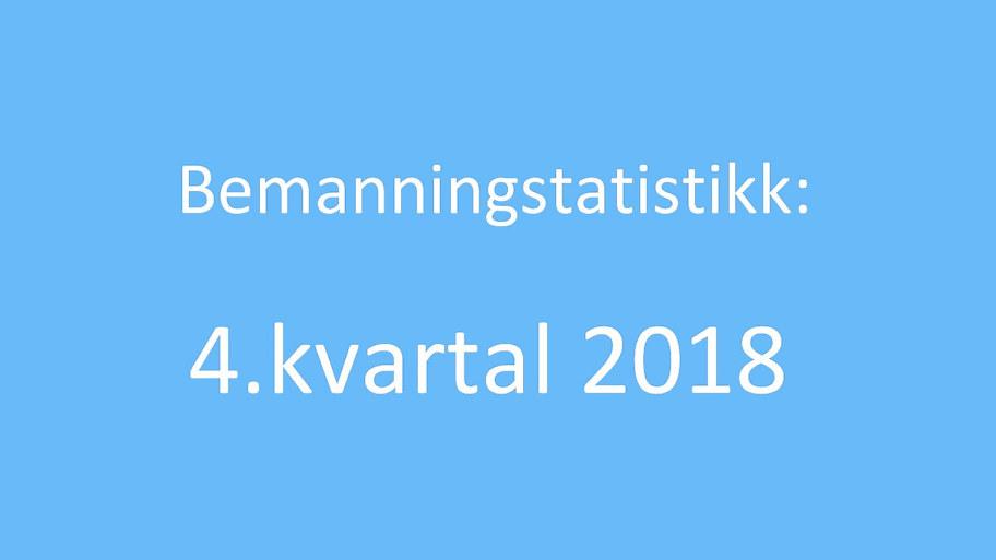 BemanningsstatistikkKvartal