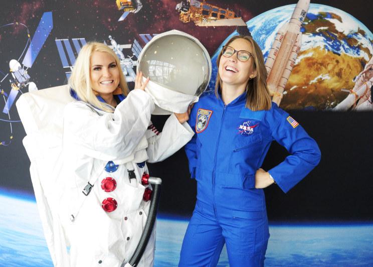 Jenter og teknologi. Bli med til NASA