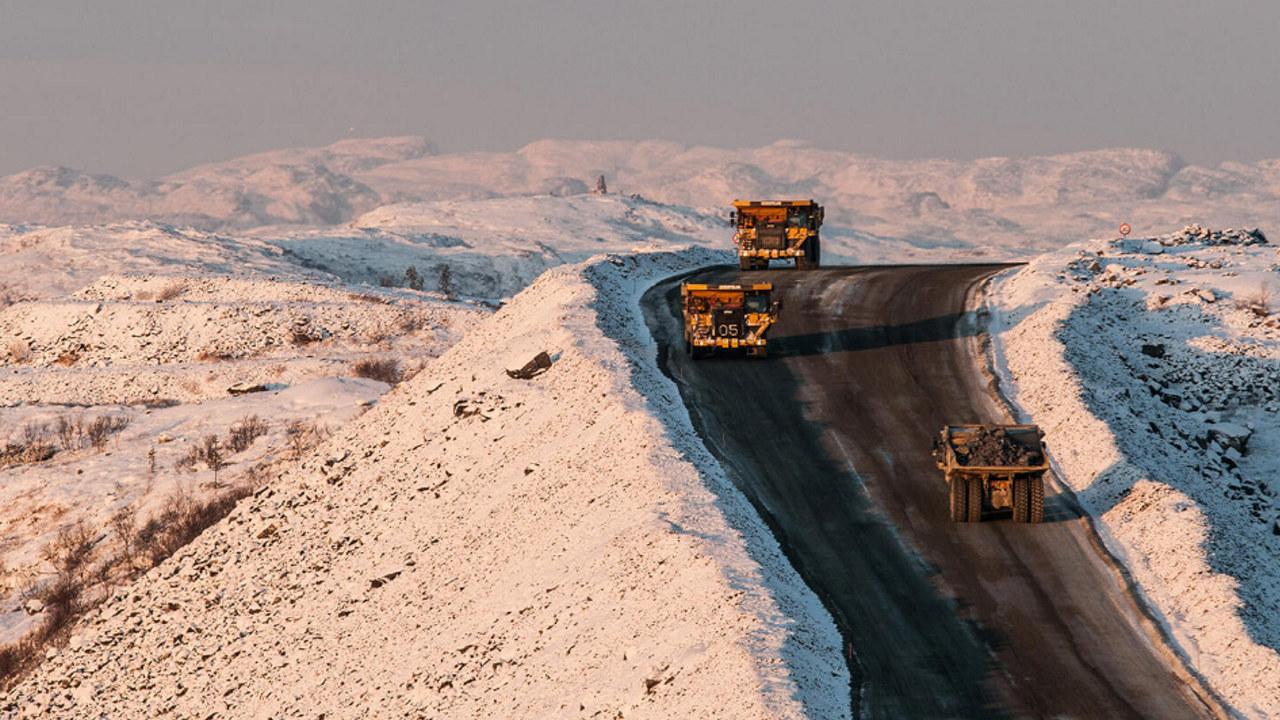Transport til og fra Sydvaranger gruve