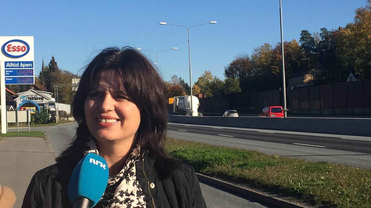 Nina Solli på E18