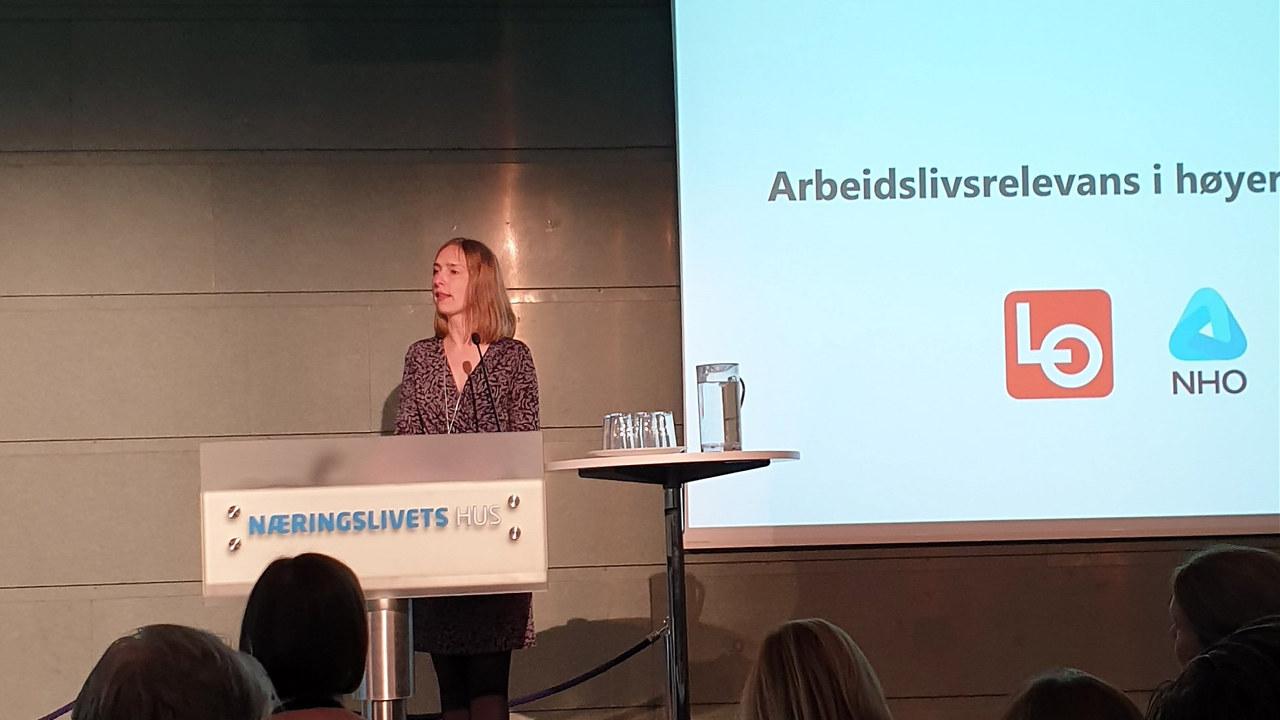 Forsknings- og høyere utdanningsminister, Iselin Nybø