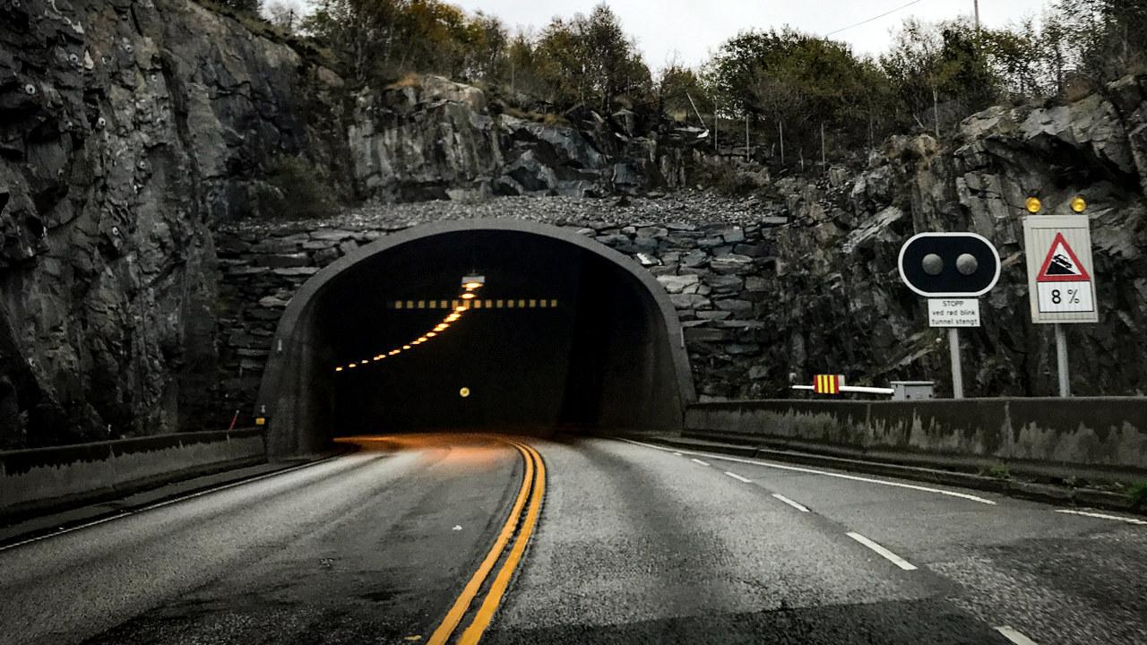 Tunnel i Ålesund