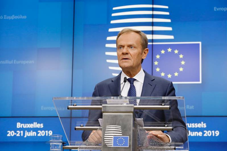 Donald TUSK, President of the European Council.
