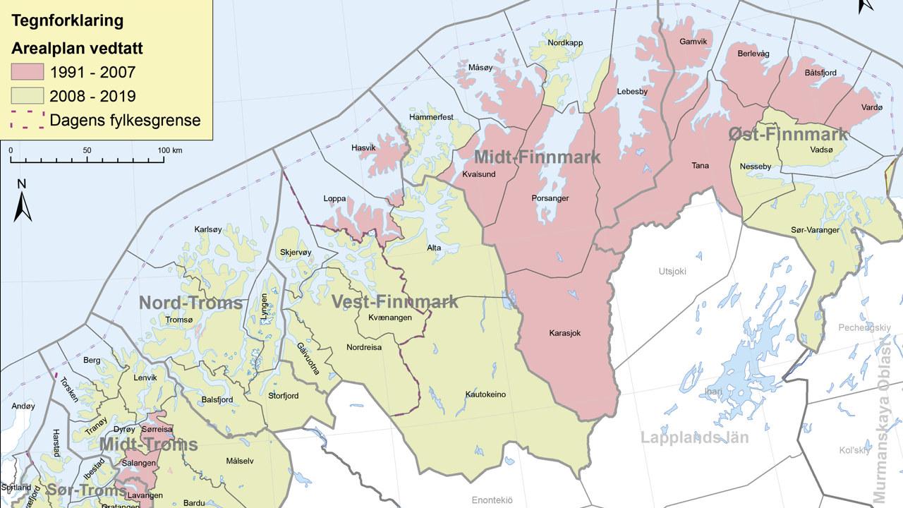 Arealplanstatus Troms og Finnmark