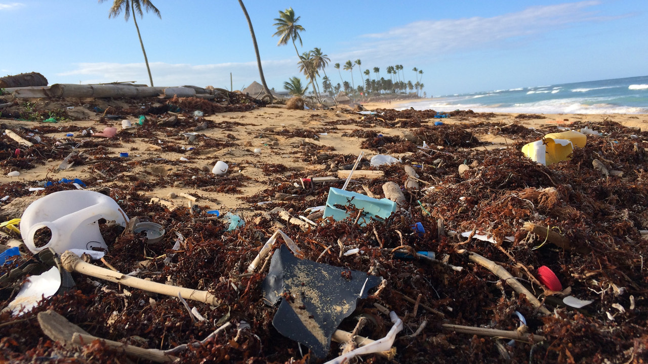 Forsøpling i form av plast