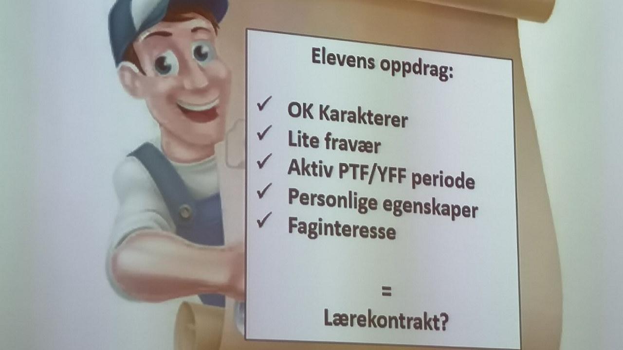 Nordland - rekruttering lærlinger