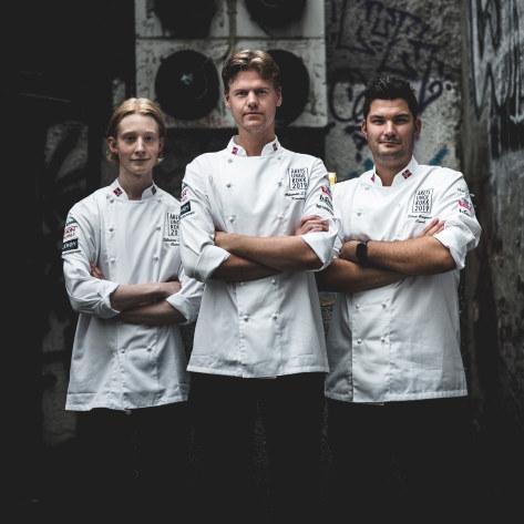 Årets unge kokk 2019 team Vartdal