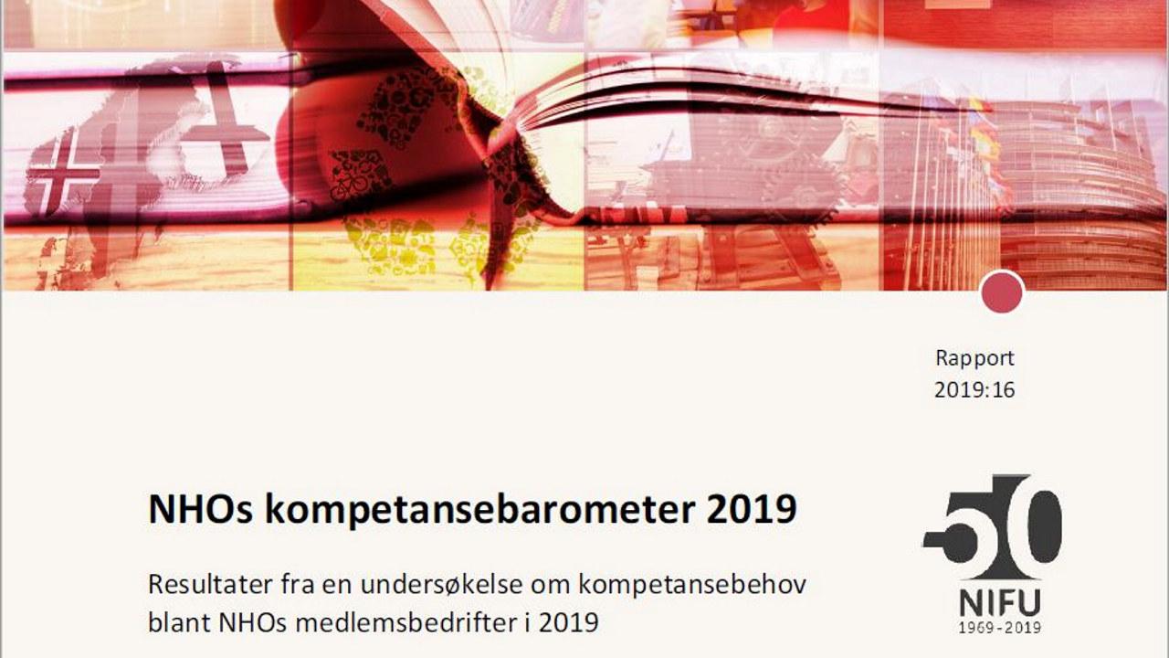 NHOs kompetansebarometer 2019