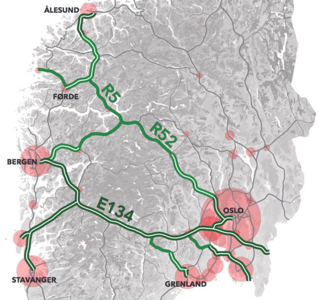 Illustrasjonskart E134