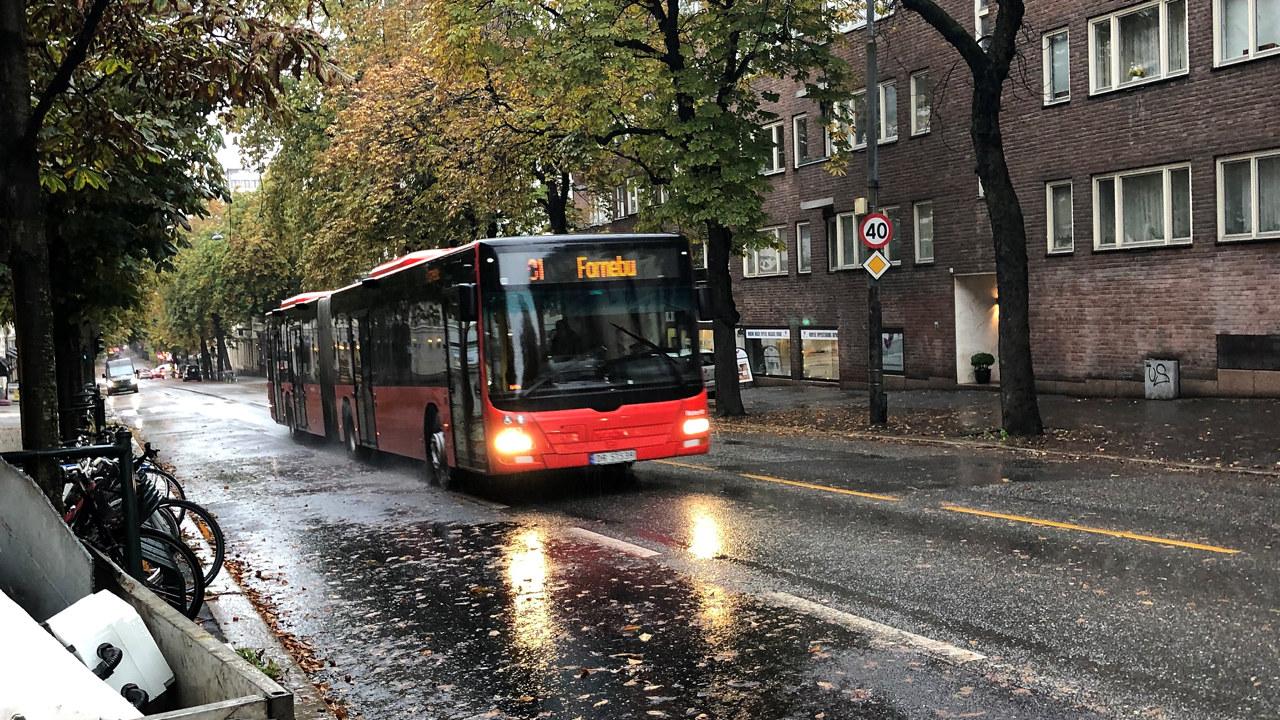 Buss i Bygdøy alle