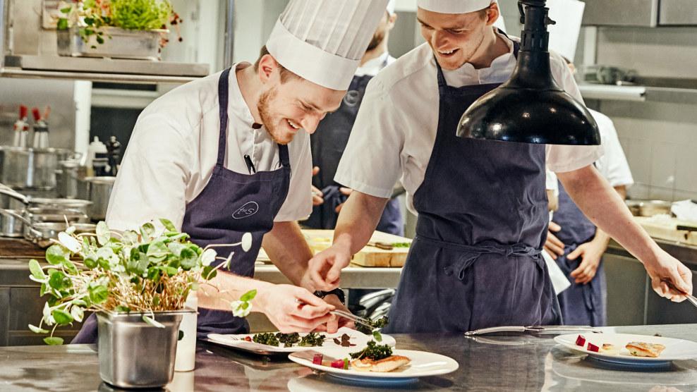 Kokker i aksjon på Tjuvholmen Sjømatmagasin