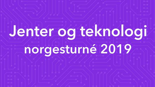 Jenter og teknologi cover turne 2019