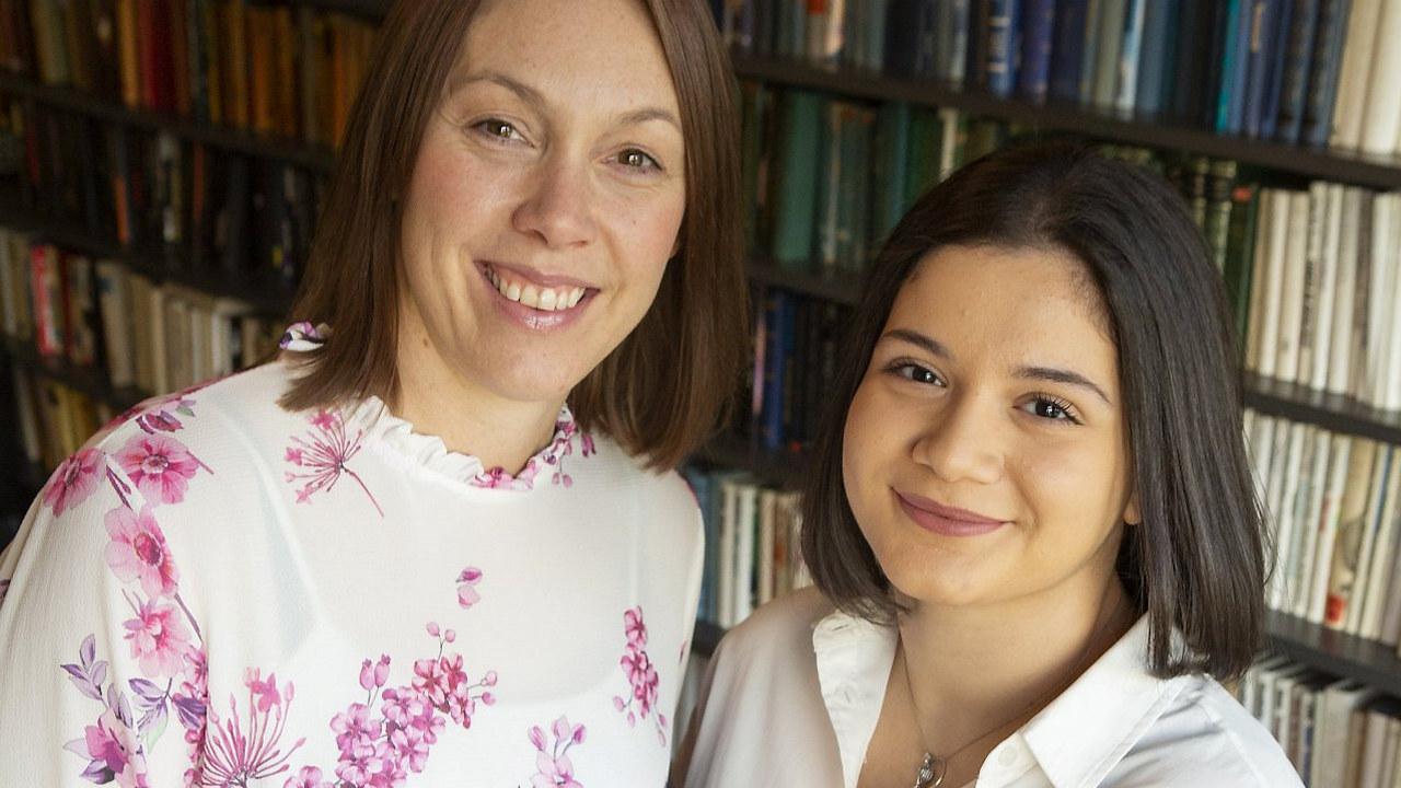 To kvinner fra Paulus sykehjem