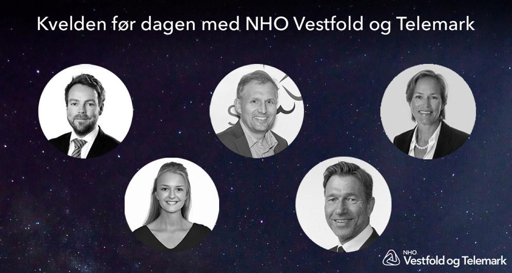 Kvelden før dagen med NHO Vestfold og Telemark