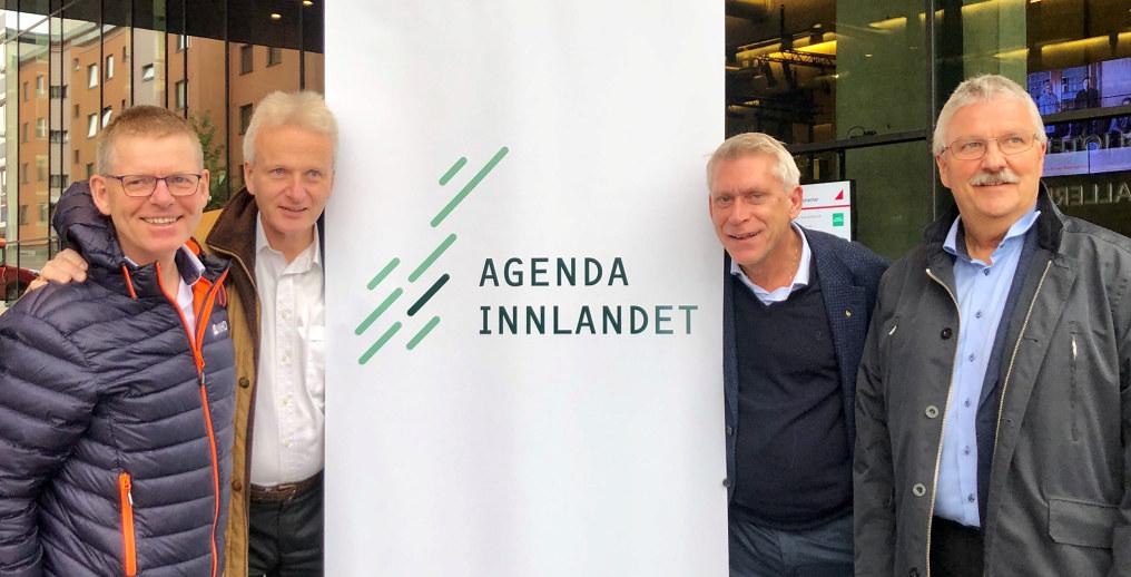 Jon Kristiansen forteller om Agenda Innlandet og hvorfor det er verdt å glede seg til kick off for den nye superregionen. - Vi skal begeistre Innlandet, lover Kristiansen.