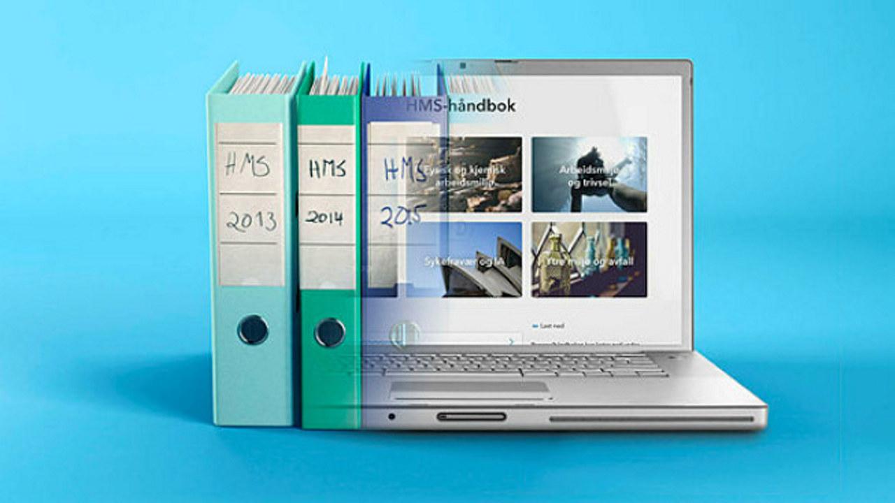 Digitale håndbøker, illustrasjonsfoto.