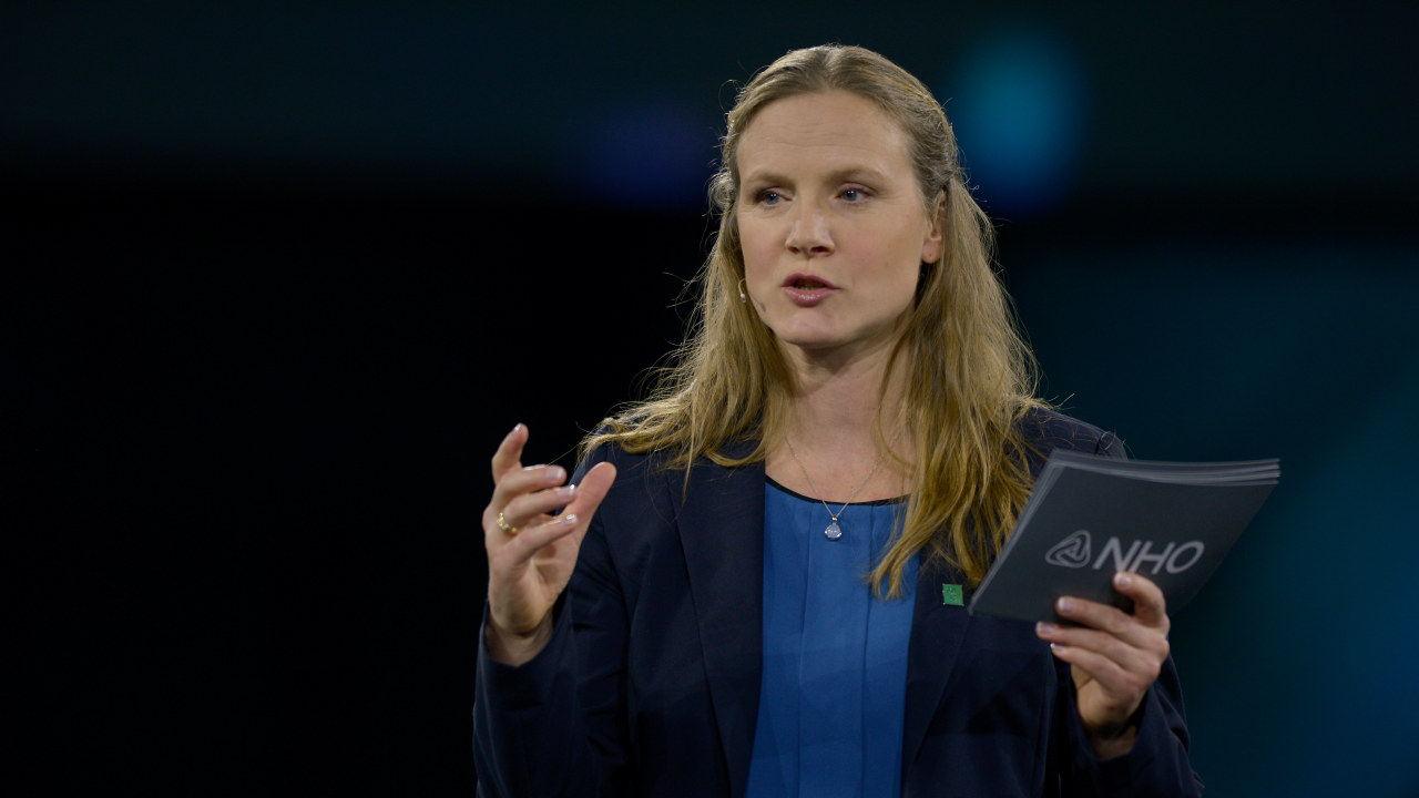 - Tilgangen på kompetanse er helt avgjørende for omstilling, sier Mari Sundli Tveit