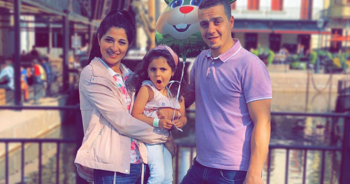 Mouayad med familie