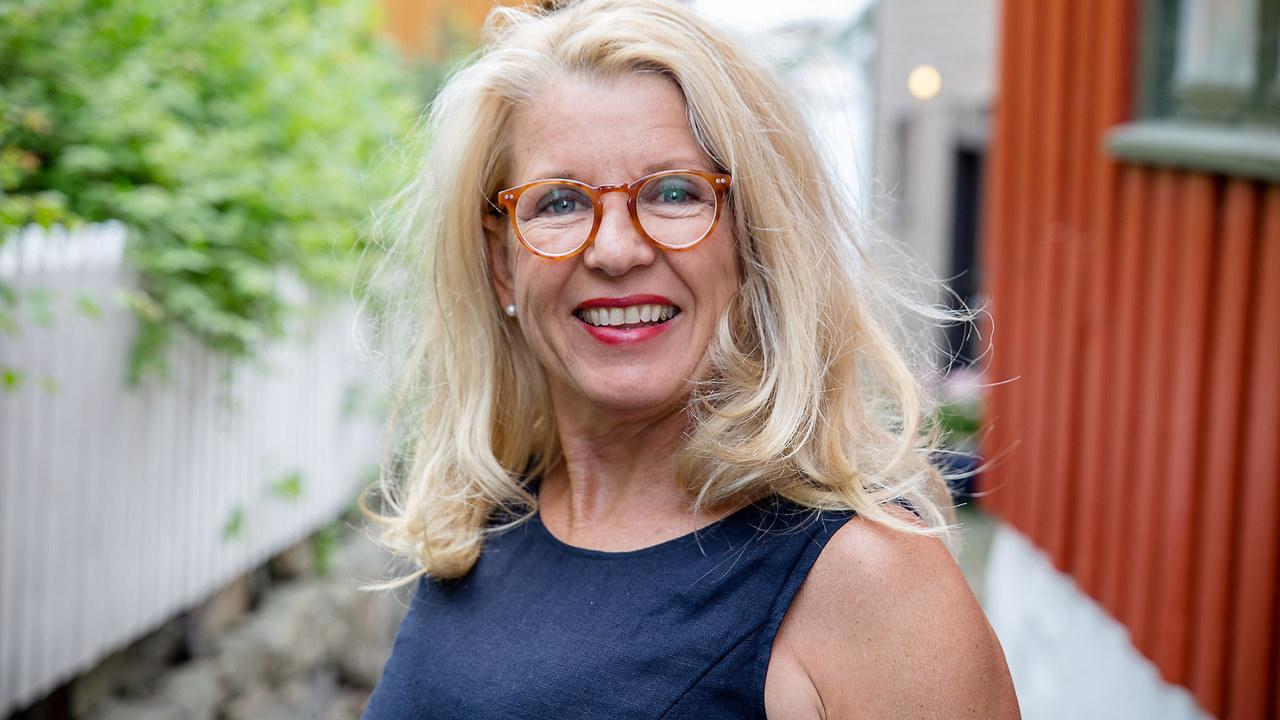Siri Mathiesen på Tyholmen i Arendal.