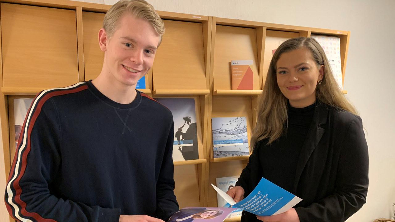 Praksisstudenter i NHO Rogaland