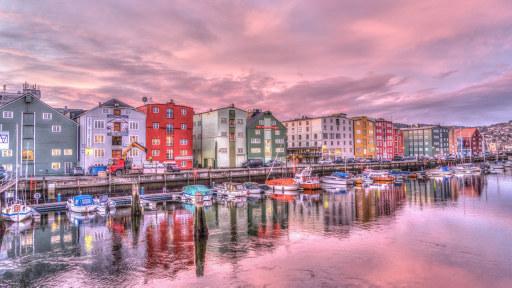 Bilde av Trondheim by