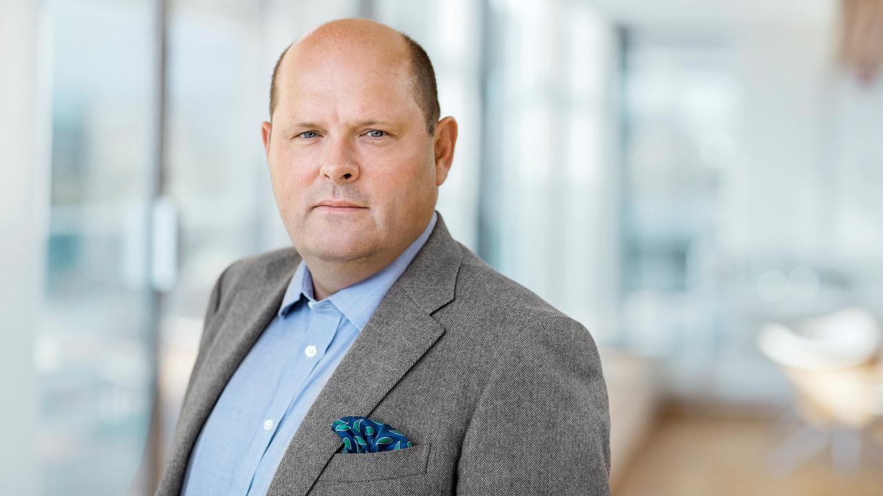 Administrerende direktør i NHO Mat og Drikke. Petter Haas Brubakk. Foto.