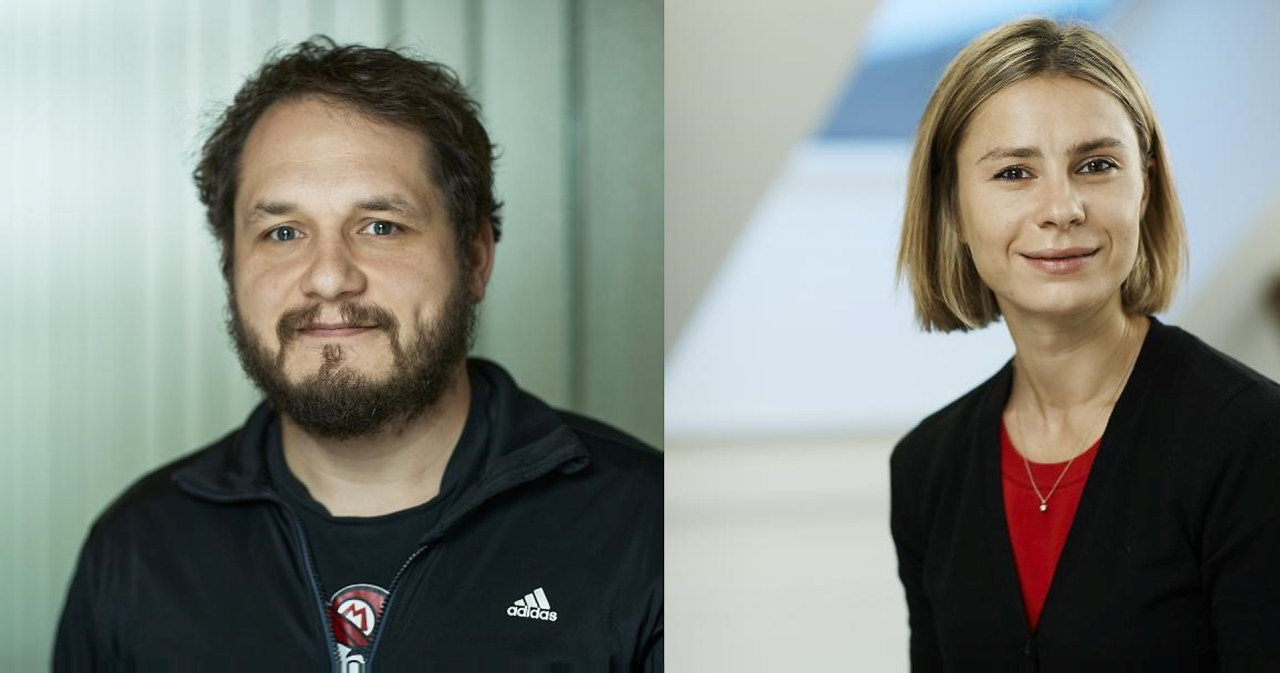 Michael Riegler og Valeriya Naumova