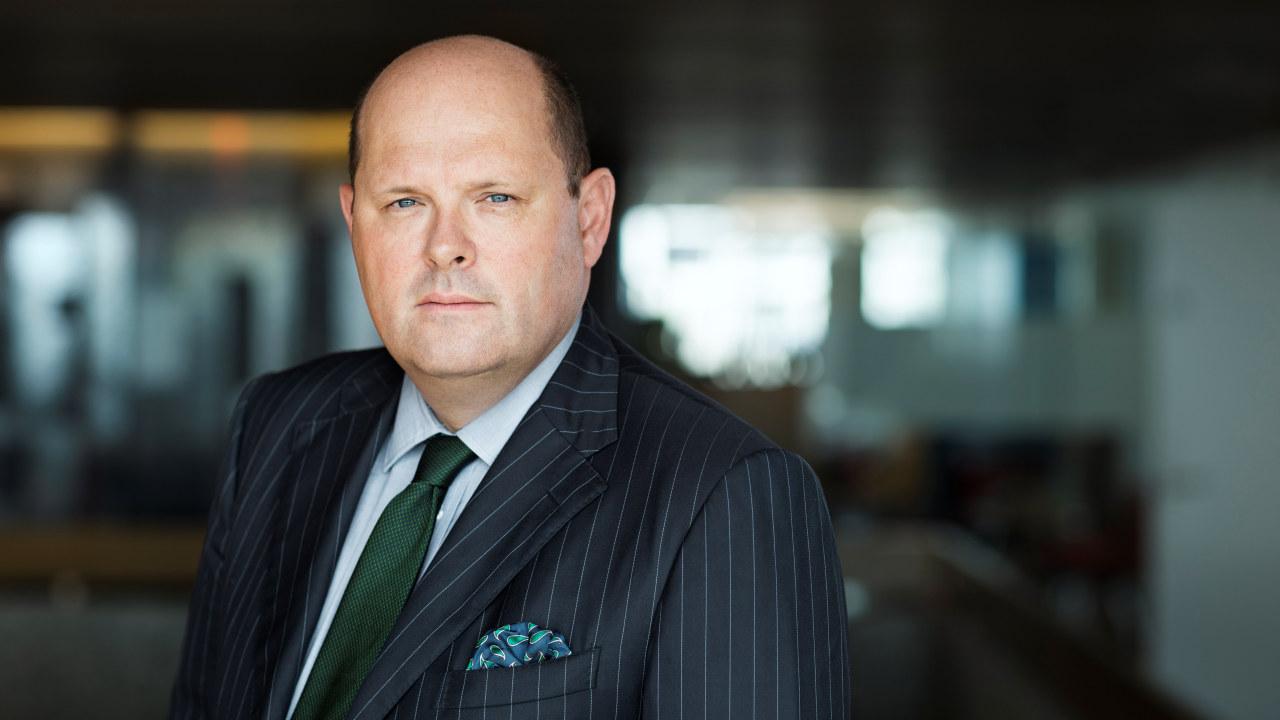 Foto. Administrerende direktør i NHO Mat og Drikke Petter Haas Brubakk.