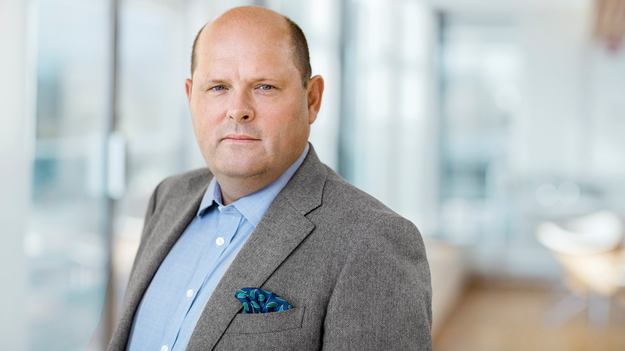 Administrerende direktør i NHO Mat og Drikke, Petter Haas Brubakk. Foto.
