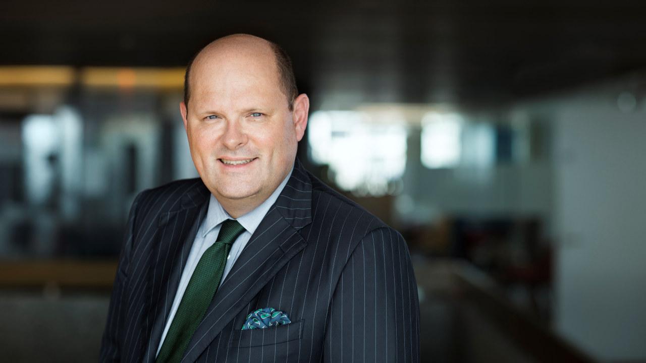 Foto. Petter Haas Brubakk. Administrerende direktør NHO Mat og Drikke.