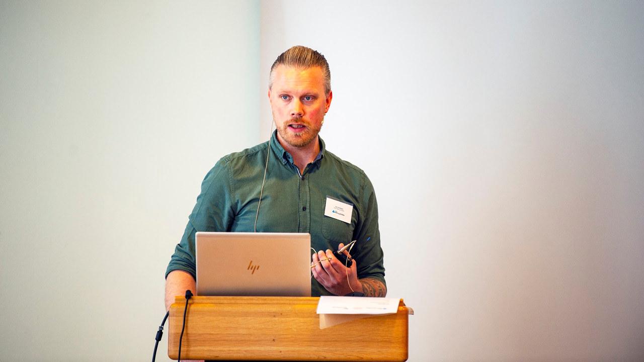 Lars Lindland åpner kickoff av matindustrien 4.0