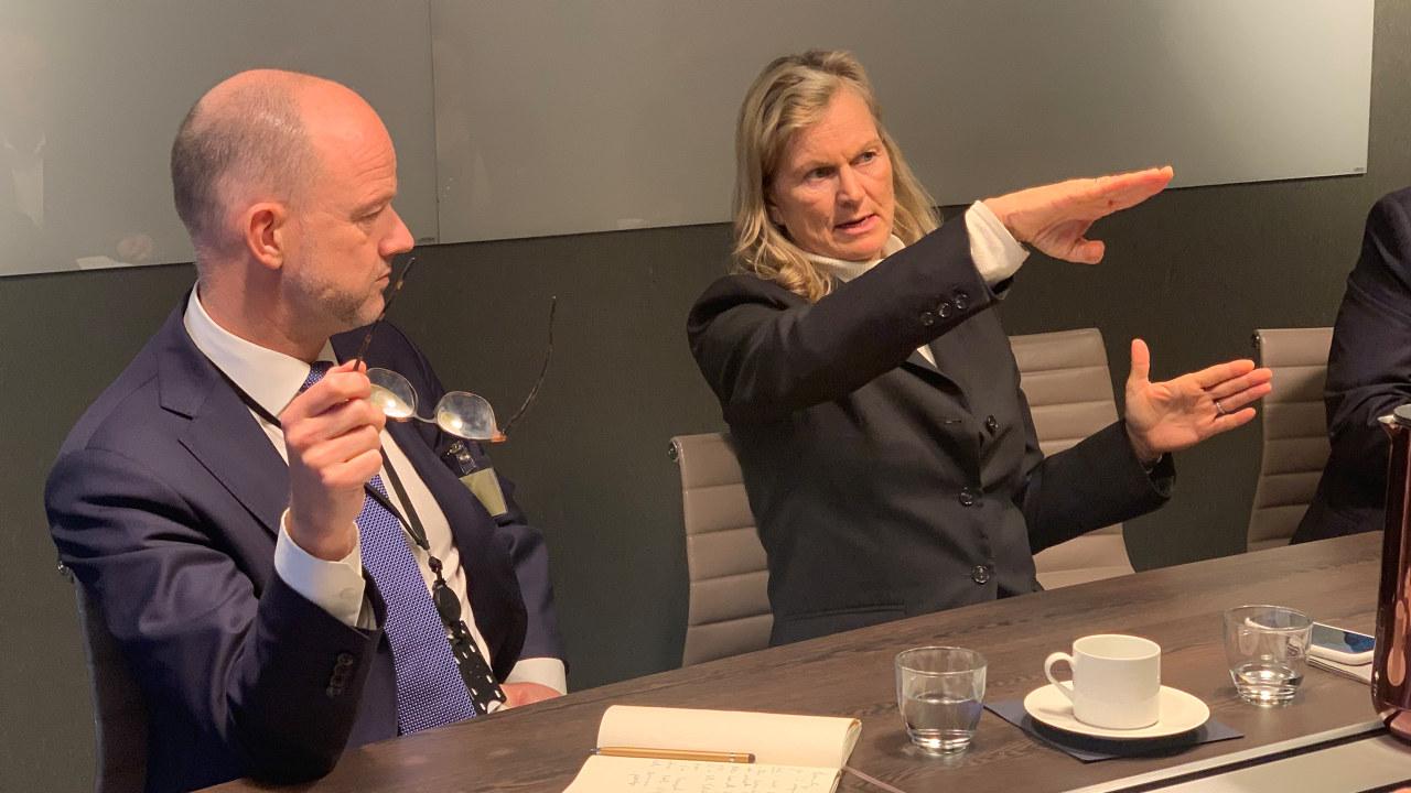 Kristin Krohn Devold og Ole Erik Almlid