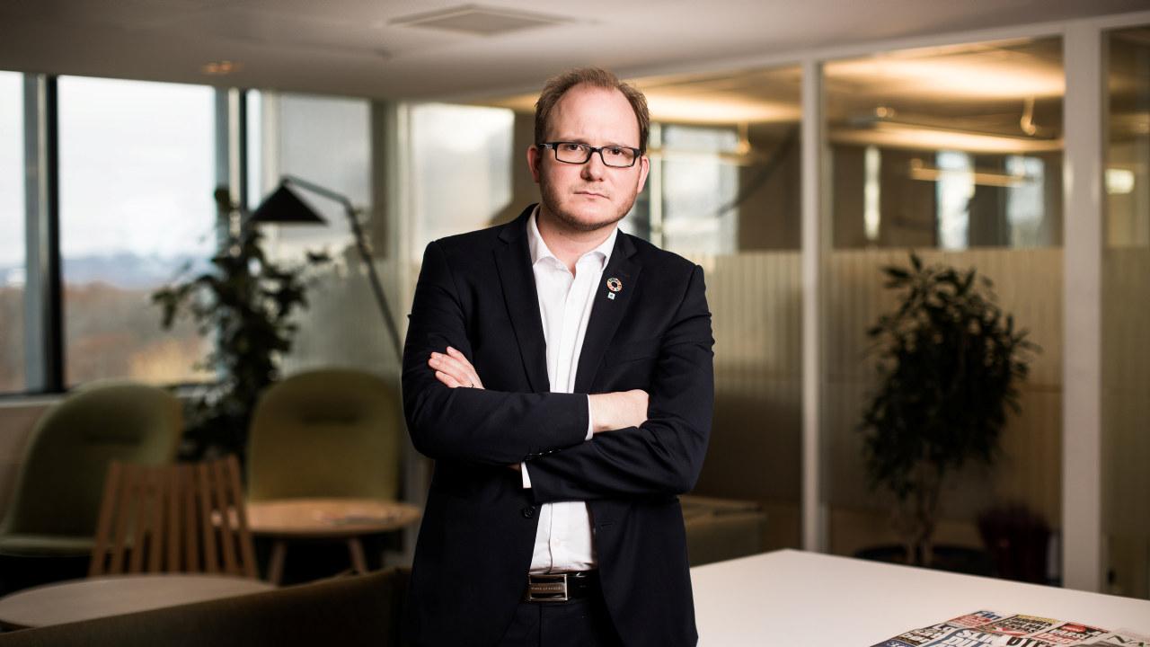 Daniel Bjarmann-Simonsen, regiondirektør i NHO Nordland