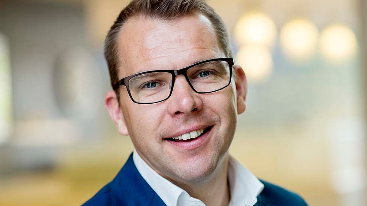 Konsernsjef Steffen Syvertsen i Agder Energi