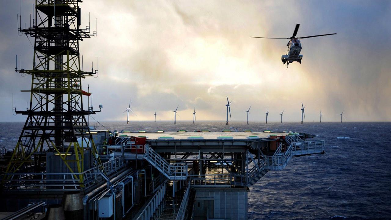 Illustrasjonsfoto av vindmøller