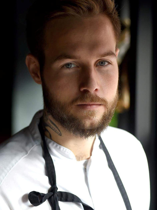 Foto av Jimmy Øyen, som driver Restaurant Rest i Oslo.