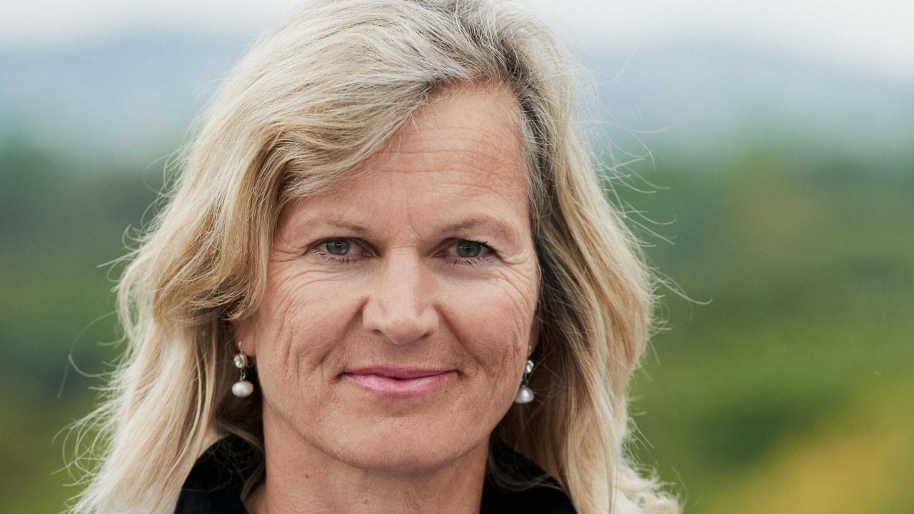 NHO Reiseliv-direktør Kristin Krohn Devold i natur