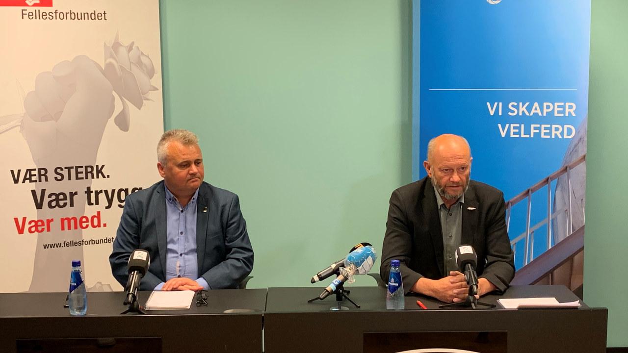 Kort etter at lønnsoppgjøret var i gang, ble det brudd i forhandlingene mellom Fellesforbundet og Norsk Industri.
