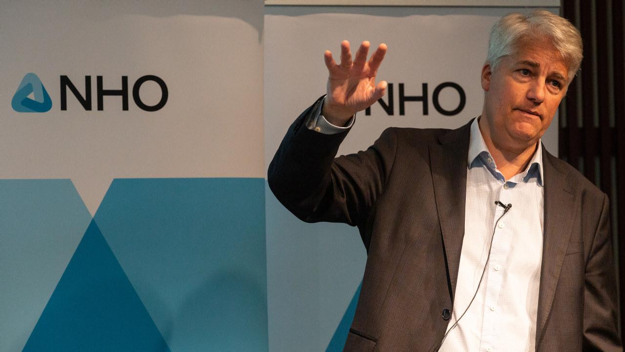 Sjeføkonom i NHO, Øystein Dørum - på medlemsmøte 26.06.2020