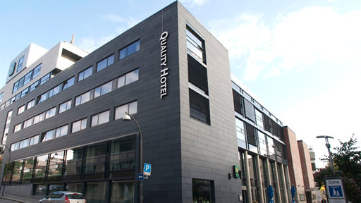 Foto av fasaden på Quality Hotel Fredrikstad