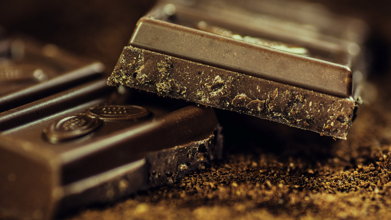 Nærbilde av sjokolade