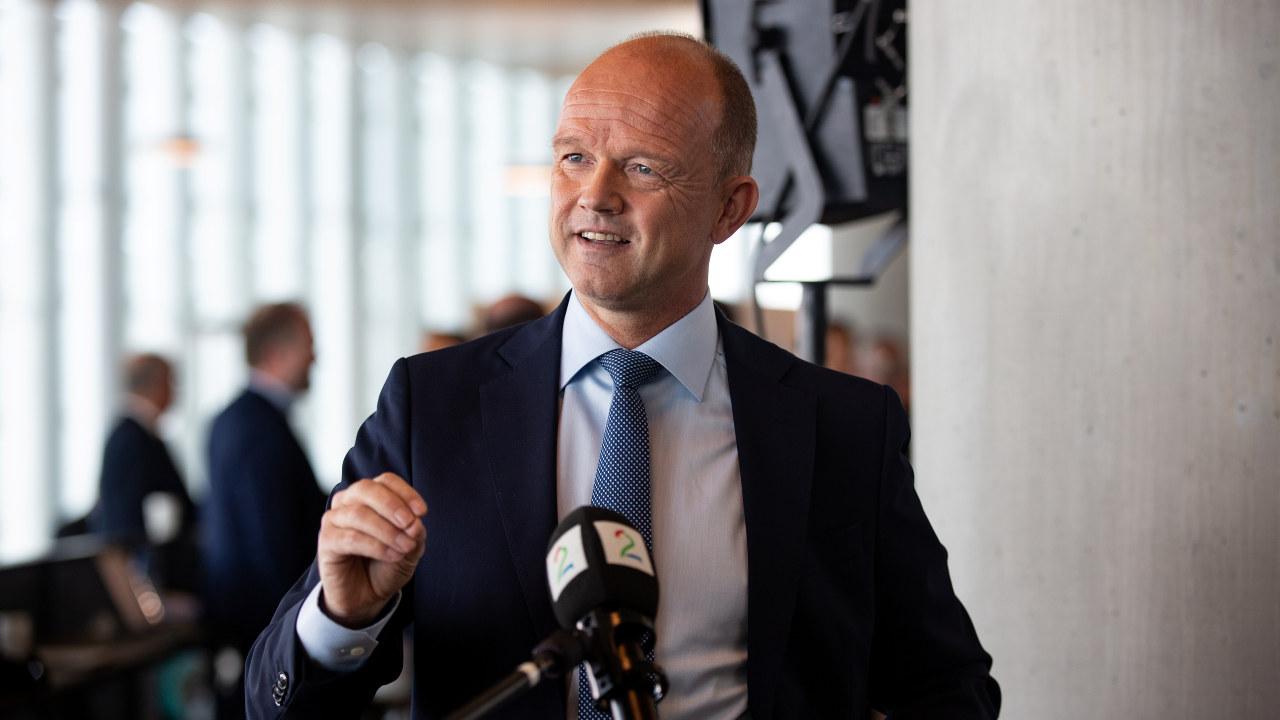 Ole Erik Almlid - lansering av NHOs veikart for fremtidens næringsliv på Deichman 31.08.2020