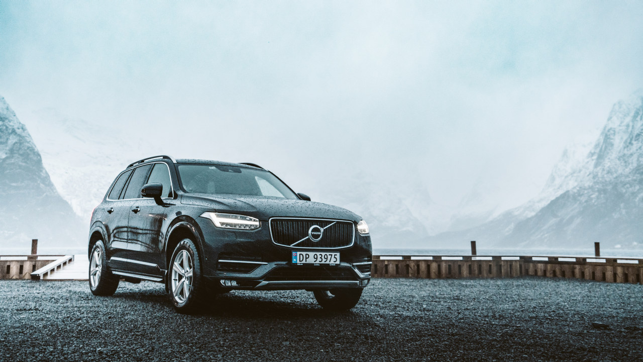 Volvo i norsk natur