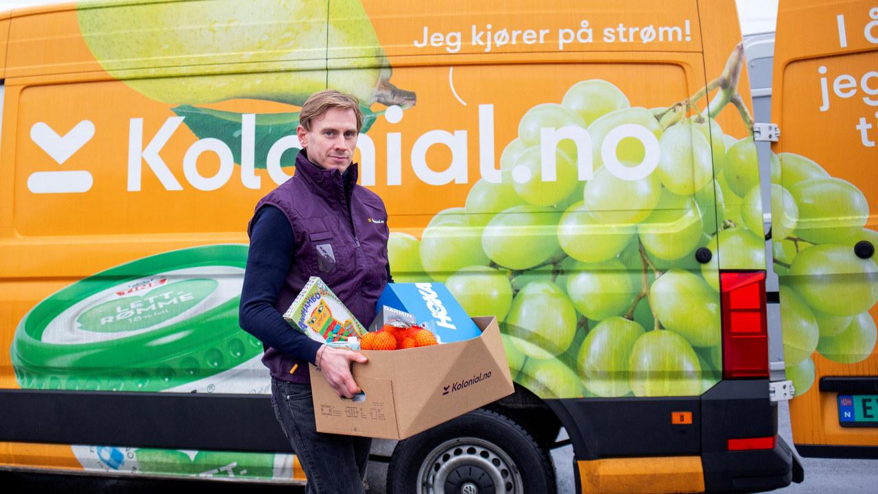 Jon Kåre Stene med pappeske